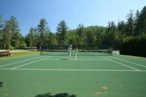 tennis court construction saratoga ny