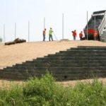 tennis court site development